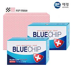 (포장)애경 항균블루칩비누2P