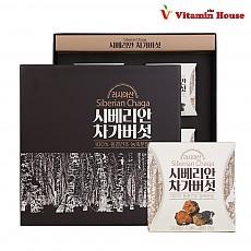 [홈쇼핑판매용] 비타민하우스 시베리안 차가버섯 4통세트